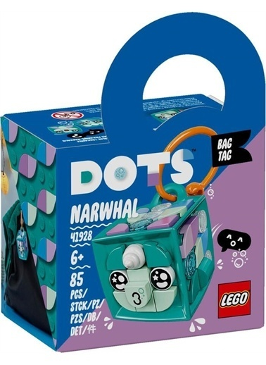 Lego 41928 Lego® Dots Deniz Gergedanı Çanta Süsü / 85 Parça /+6 Yaş Renkli
